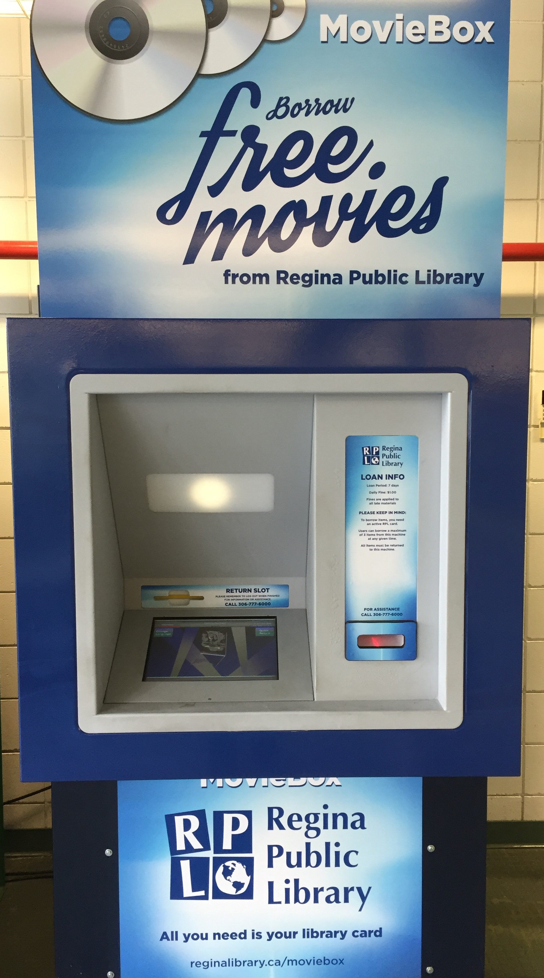 MovieBox | Regina Public Library