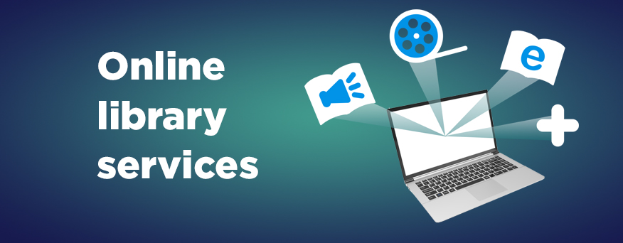 Your library at home, RPL digital services you can access from anywhere!